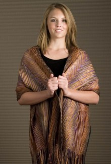 "Shawl - 20""x80"" - Golden Harvest"