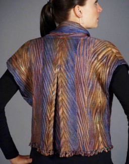 Contemporary Vest - Color: River Ripples