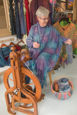 About Fiber Artist Teri D Inman Handwoven And Hand Dyed